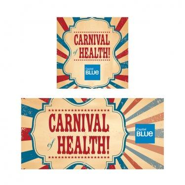 Cap Blue-Carnival